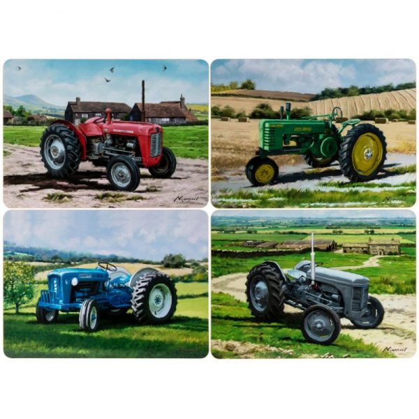 Tractors Placemats Set of 4