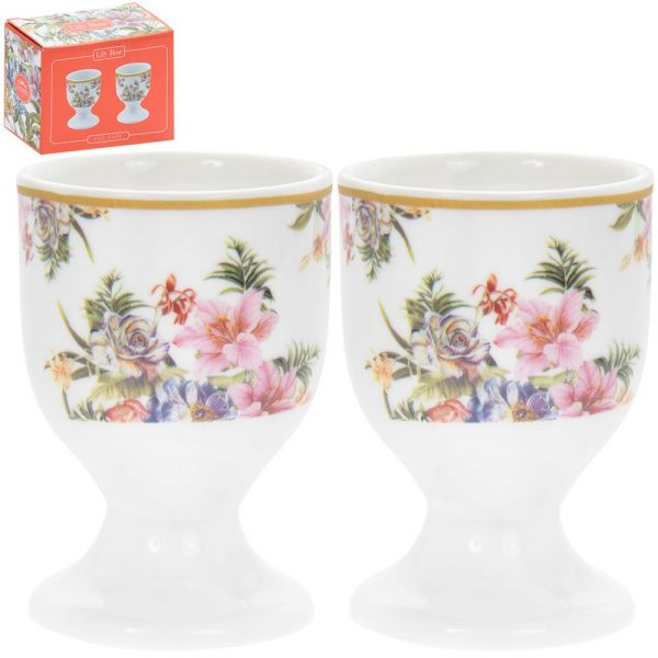 Lily Rose Egg Cups 7x5cm
