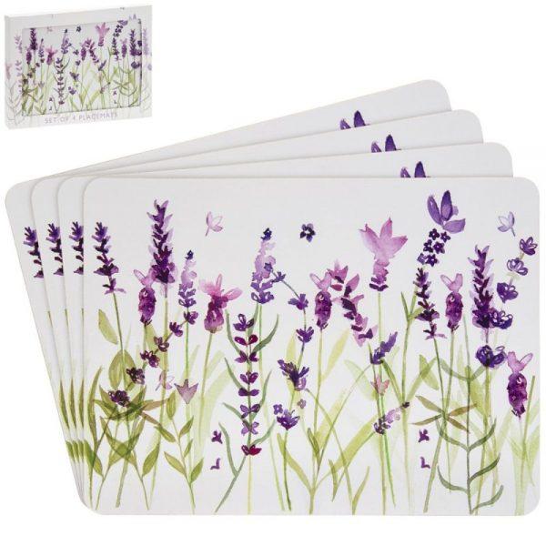 Lavender Placemats Set of 4
