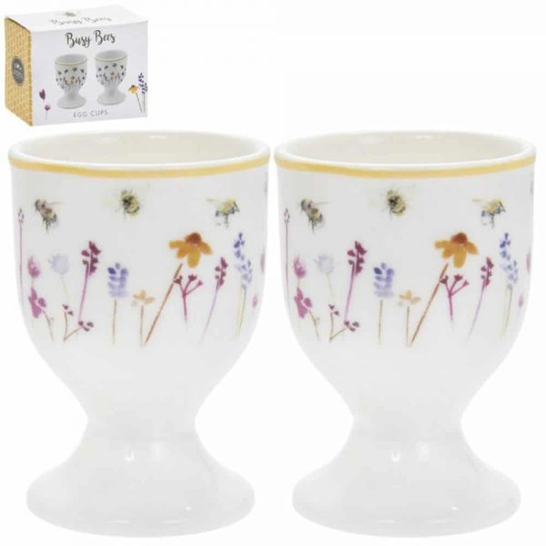 Busy Bee Pair of Egg Cups
