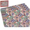 Golden Lily Placemats Set of 4
