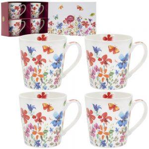 Butterfly Meadow Mugs Set of 4