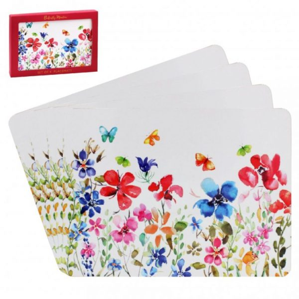Butterfly Meadow Placemats Set of 4