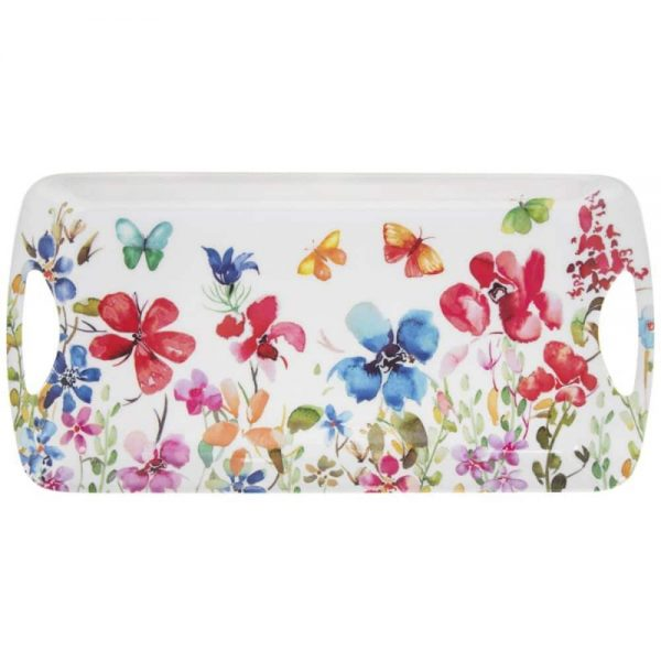 Butterfly Meadow Tray Medium 41x20x4cm