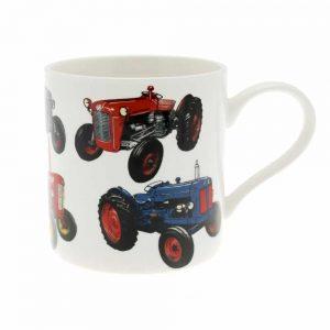 Tractor Fine China Mug