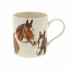 Horse Fine China Mug