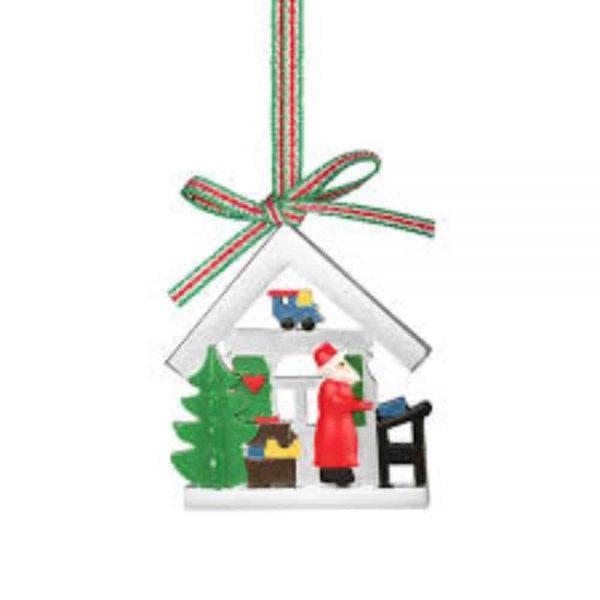 Santa Workshop Decoration