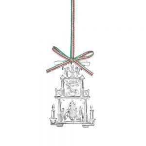 Newbridge Vintage Christmas Hanging Decoration