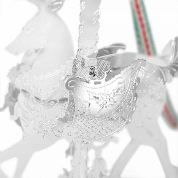 Newbridge Carousel Reindeer Hanging Decoration