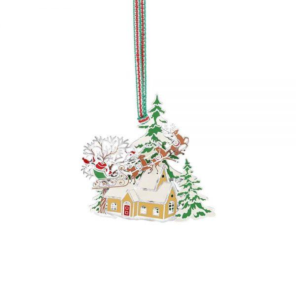 Newbridge Santa and Sleigh Scene Decoration
