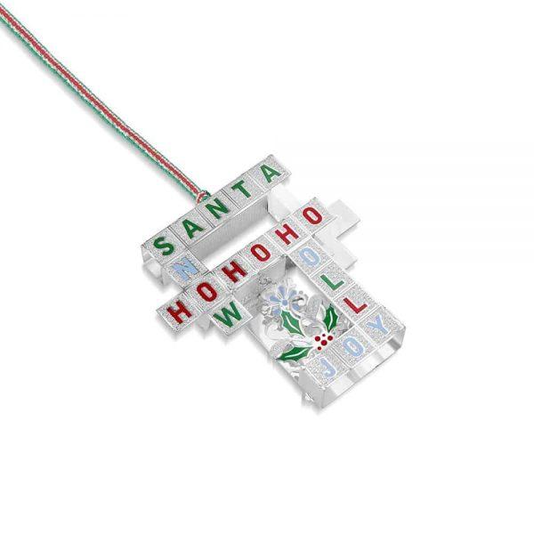 Newbridge Christmas Crossword Decoration