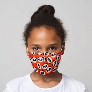 Cutiemals Panda Reusable Face Covering Small