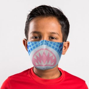 Shark Cafe Reusable Face Covering Small