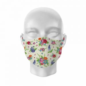 Botanical Reusable Face Covering Large