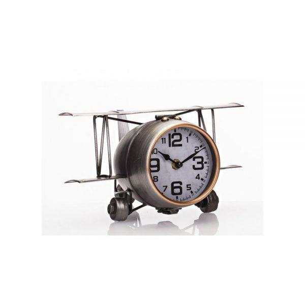 Large Aeroplane Table Clock 41x8x17cm