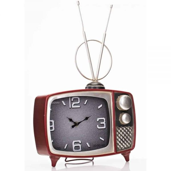 Large Television Table Clock 30x10x48cm