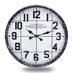 Industrial Wall Clock Dia 60cm