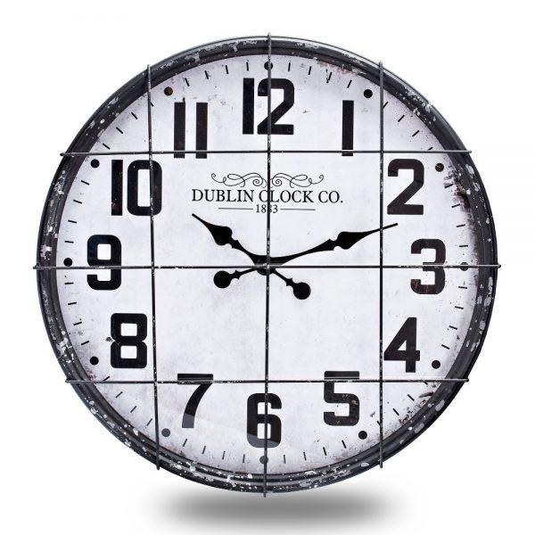 Industrial Wall Clock Dia 60cm