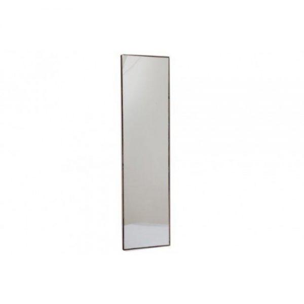 121x31cm Dark Wood Wall Mirror