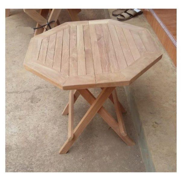 45cm Octagonal Picnic Table