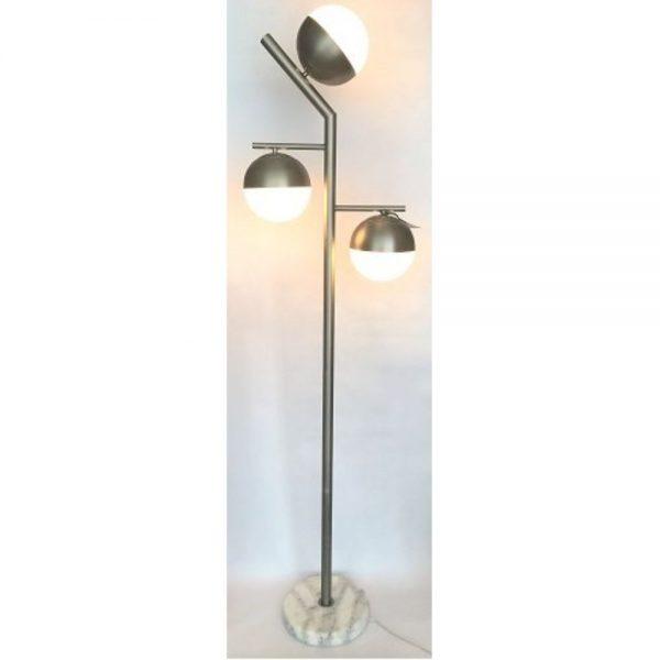 Galileo Modern Floor Lamp 3 Glass Balls