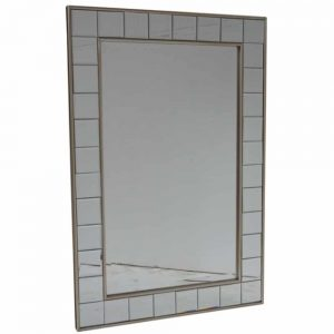Rectangular Champagne Mirror 76x106cm