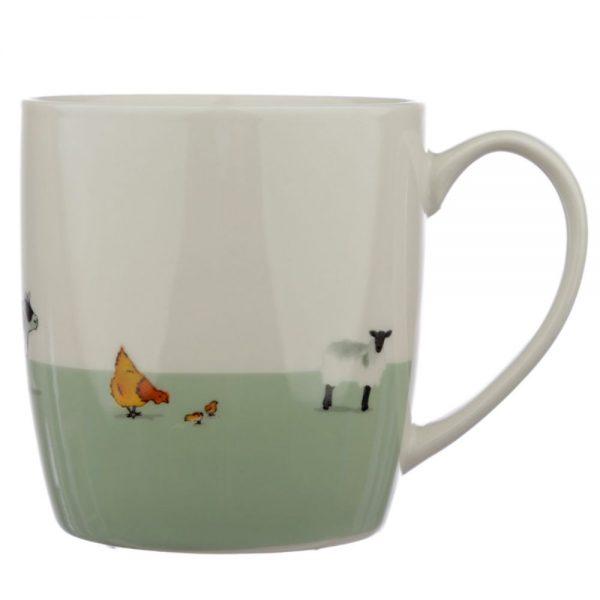 Willow Farm Porcelain Mug