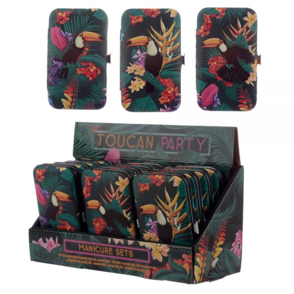 Toucan Party Manicure Set