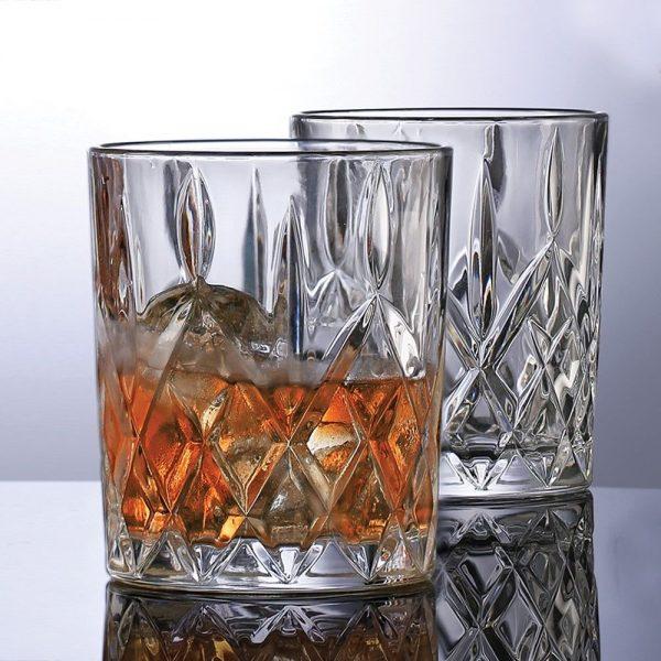 Newbridge 6 Whiskey Glasses Traditional Cut