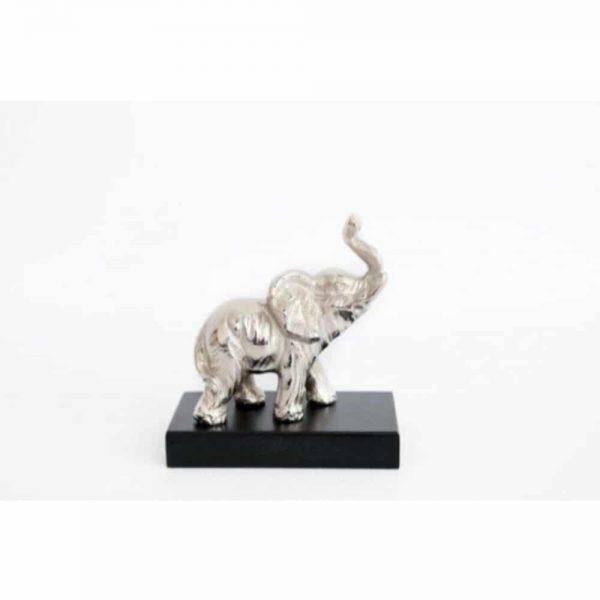 13x14cm Baby Elephant On Base