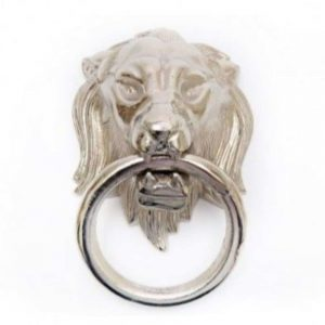 25x20cm Lion Head with Ring