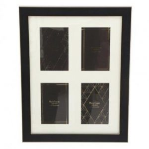 4X6 inch Black And Gold Multi Frame