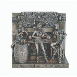 The Session Traditional Irish Music H:15cm W:17cm