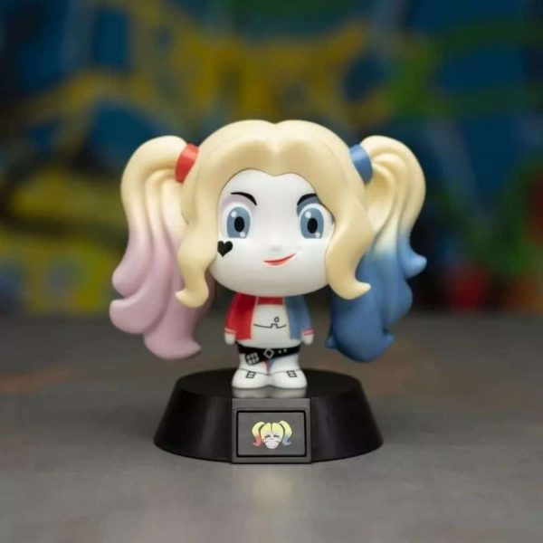 Suicide Squad Harley Quinn Icon Light