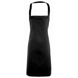 Essential Bib Apron Black