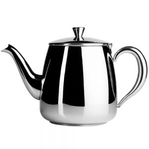 Cafe Ole 35OZ Stainless Steel Teapot