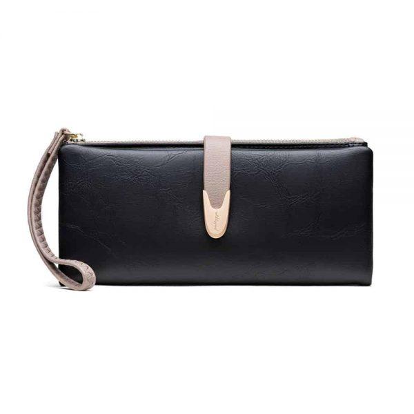 Gessy Purse In Black 10 x 19cm