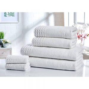 White Retreat Bath Towel