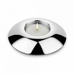 Newbridge Silverplated Round Tealight Holder
