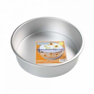 Seamless Anodised Aluminium 14inch Round Cake Tin