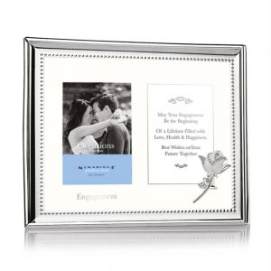 Engagement Double Frame 3x4