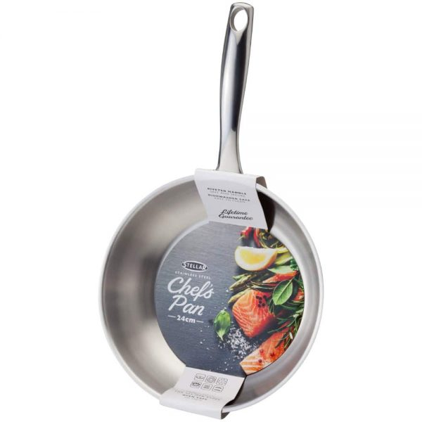 Stellar Speciality Cookware 24cm Chefs Pan