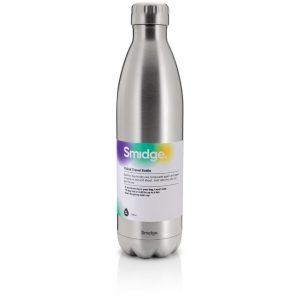 Smidge Insulated Bottle Steel 750ML