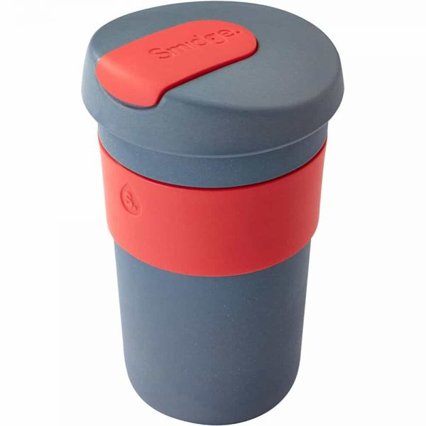 Smidge Coffee Cup 400ml Storm & Coral