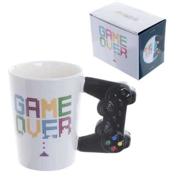 Game Controller Shaped Handle Mug