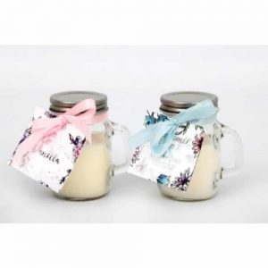 8cm Secret Garden Mason Jar Candle