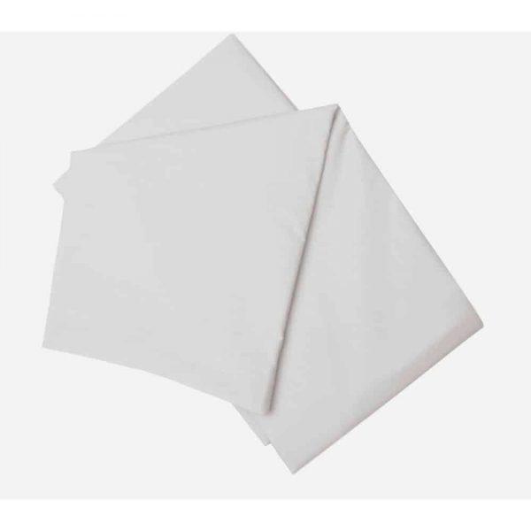 Brushed Grey Single Flat Sheet