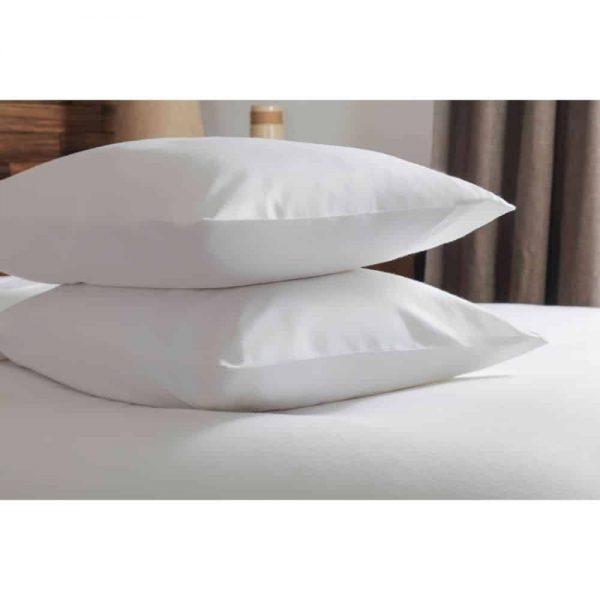 Brushed White Pair Pillowcases
