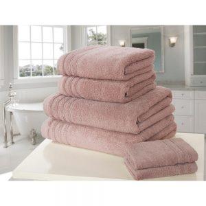 Dusky Pink So Soft Bath Towel