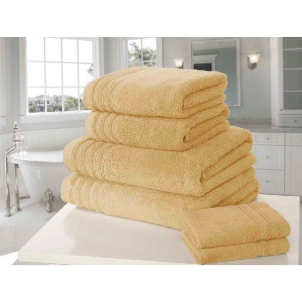 Ochre So Soft Face Towel
